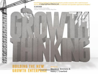 Wayne A. Simmons: GrowthThinking: Building the New Growth Enterprise