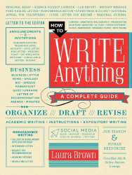 Laura Brown: How to Write Anything: A Complete Guide
