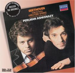 "Beethoven - Violin Sonatas ""Kreutzer"" & ""Spring"": Itzhak Perlman - Vladimir Ashkenazy"