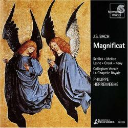 Bach JS - Magnificat BWV 243: P. Herreweghe - La Chapelle Royale • Collegium Vocale Gent -  Schlick • Mellon • Lesne • Crook • Kooy •