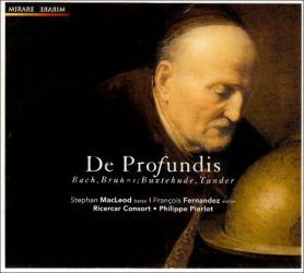 De Profundis : Bach, Bruhns, Buxtehude, Tunder: Ricercar Consort - Philippe Pierlot - Stephan MacLeod (basse)