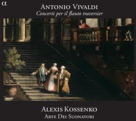 Vivaldi Antonio - Concertos Pour Flûte Traversière: Alexis Kossenko -  flûte et direction d'orchestre - Ensemble Arte Dei Suonatori