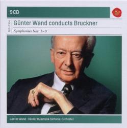 Bruckner : Symphonies n° 1 à n° 9 (Coffret 9 CD): Günter Wand - Kölner Rundfunk-Sinfonie Orchester