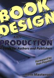 Pete Masterson: Book Design and Production