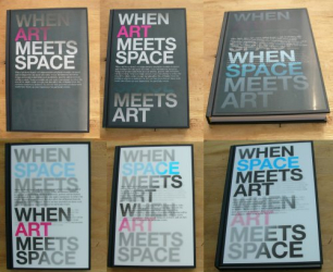 : When Space Meets Art/When Art Meets Space: Spatial, Structural and Graphic Design for Event and Exhibition
