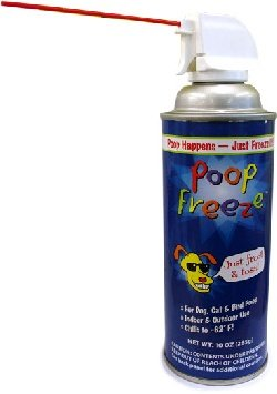 : Poop-Freeze Aerosol Freeze Spray (10oz)