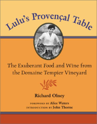 Richard Olney: Lulu's Provencal Table