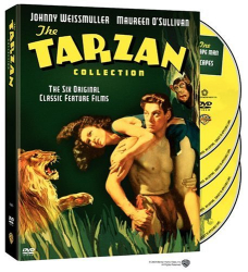 : The Tarzan Collection Starring Johnny Weissmuller (Tarzan the Ape Man / Escapes / and His Mate / Finds a Son / Secret Treasure / New York Adventure)
