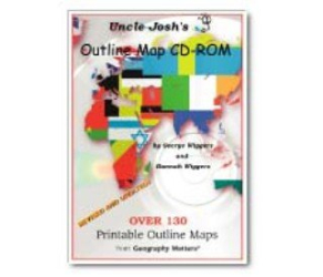 : Uncle Josh's Outline Map CD-Rom
