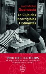 Jean-Michel Guenassia: Le Club des incorrigibles optimistes (pll)