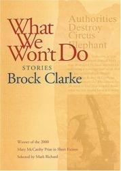 Brock Clarke: What We Won't Do: Stories