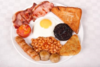 Full English breakfast comp