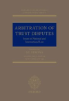 Arbitration of trust disputes