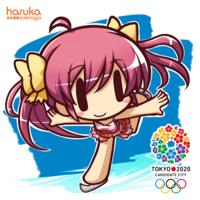 2020 Olympics mascot 1