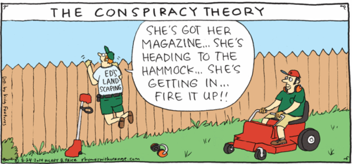 Rhymes with Orange - The Conspiracy Theory
