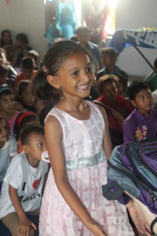 Nepal Girl Christmas Care