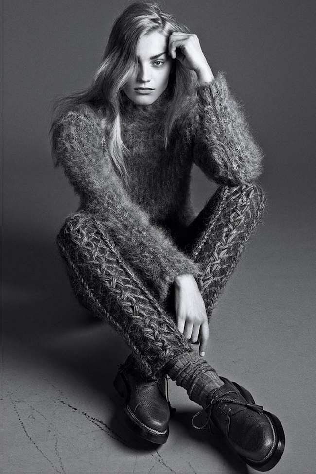 WSJ MAGAZINE Anna Jagodzinska in The Gray Lady by Lachlan Bailey. Alastair McKimm, September 2014, www.imageamplified.com, Image Amplified
