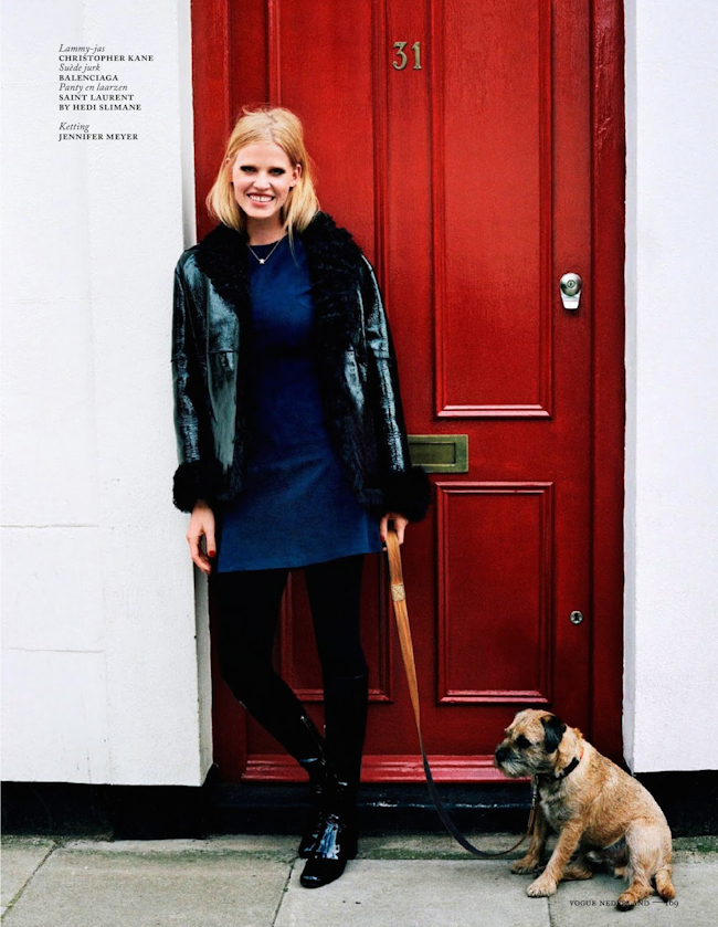 VOGUE NETHERLANDS Lara Stone in Super Lara by Angelo Pennetta. Sara Moonves, September 2014, www.imageamplified.com, Image Amplified