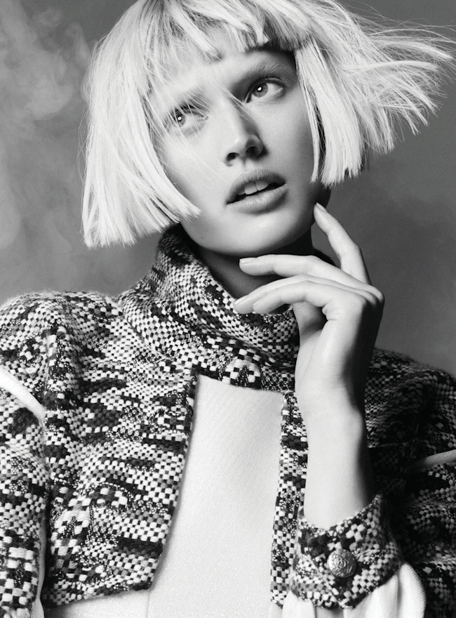 HARPER'S BAZAAR GERMANY Toni Garrn by Nagi Sakai. Kai Margrander, September 2014, www.imageamplified.com, Image Amplified
