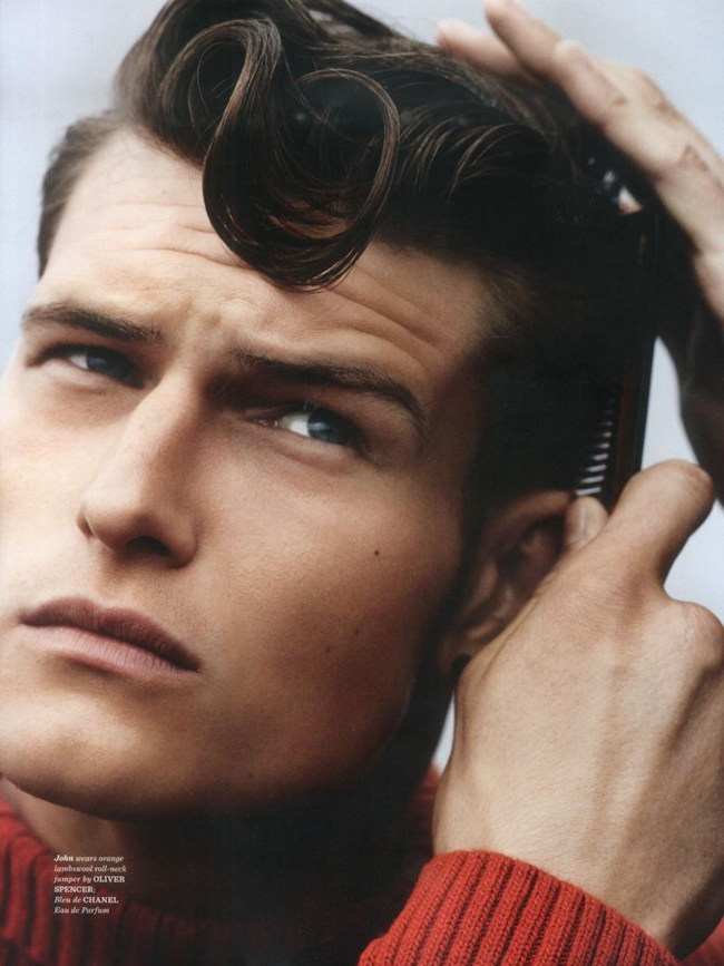 Male Sight Photography of John Todd by John Balsom for GQ Style Magazine