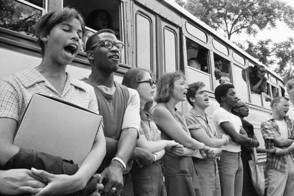 Student civil rights activists 1964
