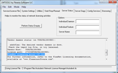Server -97 Error