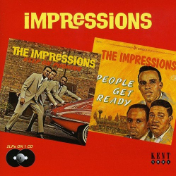 IMPRESSIONS - Keep on Pushing / People Get Ready