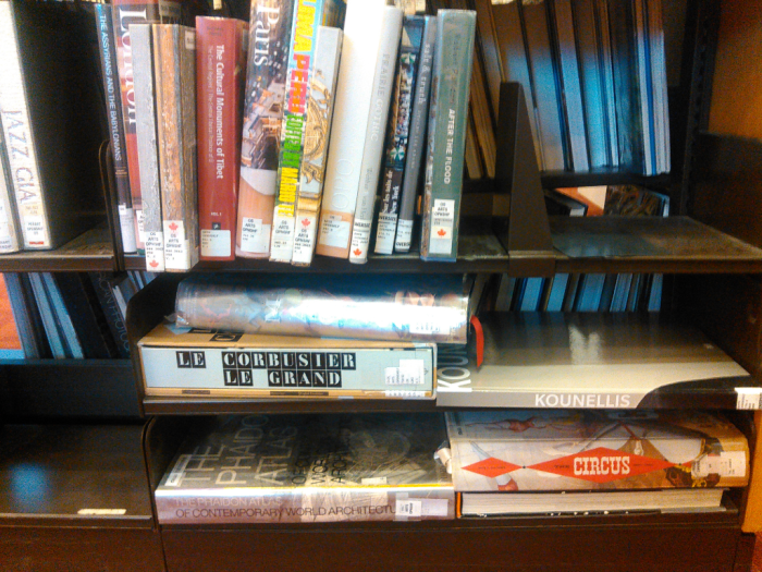 Oversize Art Books - 5th floor Toronto Reference Library