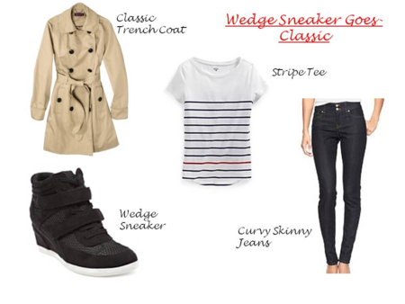 Wedge sneakers 2