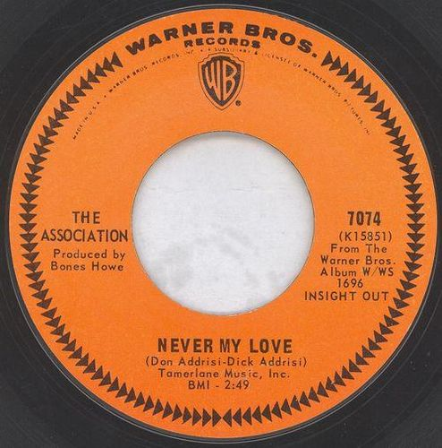 The Association - Never My Love(Versión 45 R.P.M.)