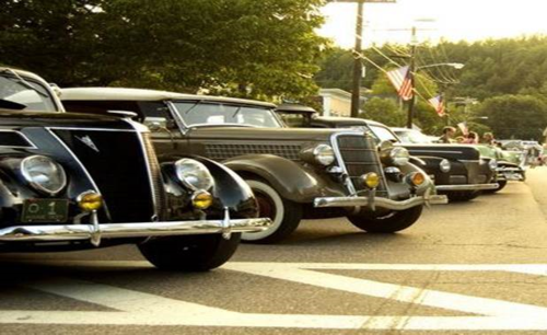 Stowe car show