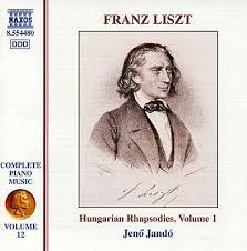 Liszt / Hungarian Rhapsodies, volume 1