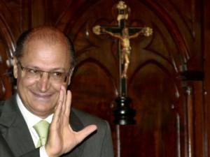 El gobernador Geraldo Alckmin