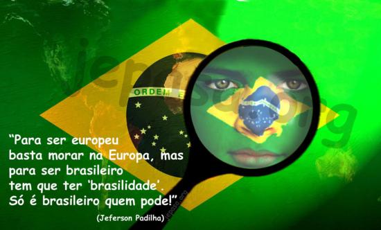 Orgullo de ser brasiloeño