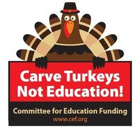Carve turkey not edu