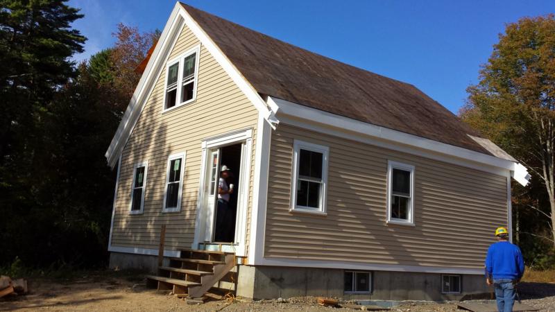 Sprinklered home in Hanover, Massachusetts