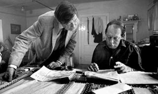 Auden y Chester Kallman, en 1969