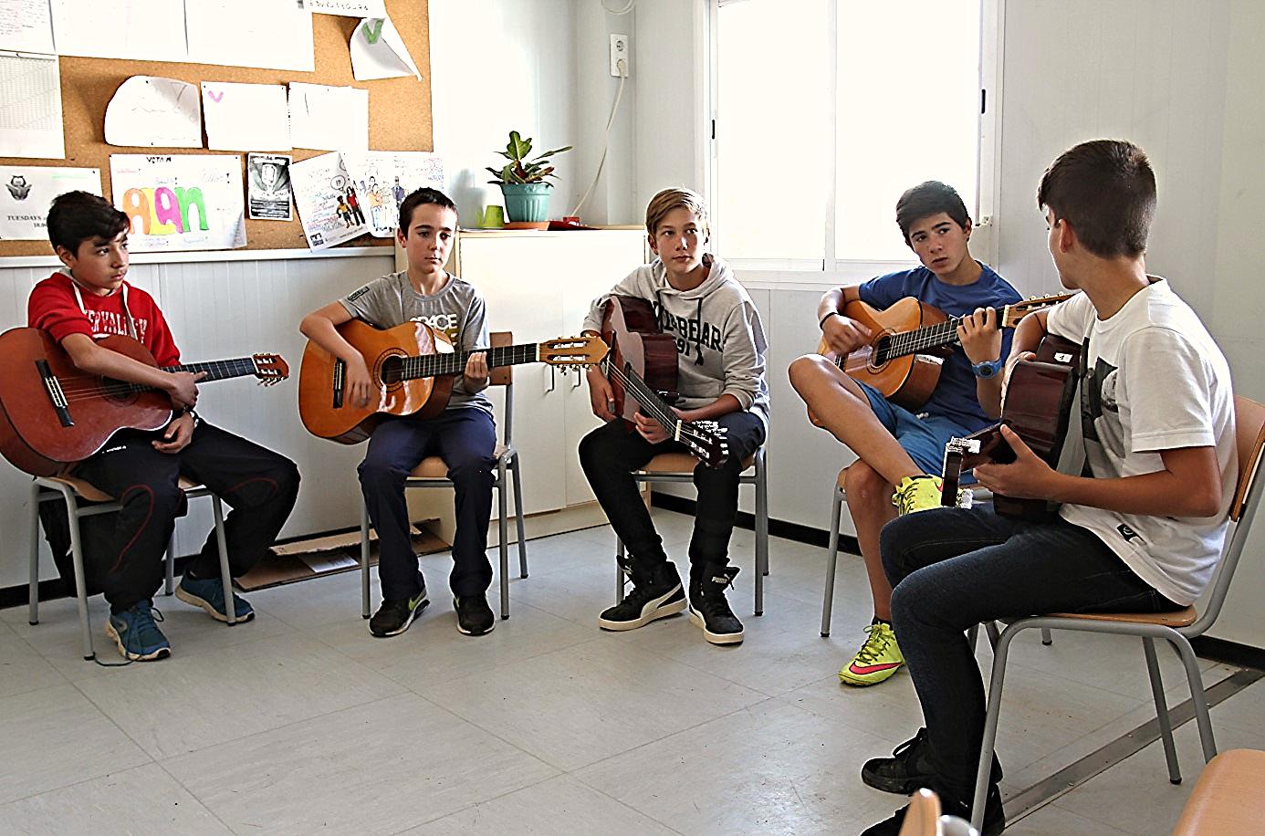 Estudiantes de Educación Secundaria Obligatoria del Instituto de Sils / TITO SPÍNOLA para Ashoka España.