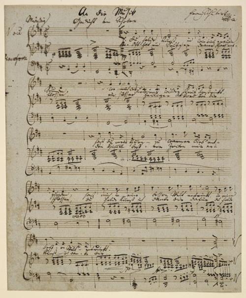 Franz Schubert: 'An die Musik'