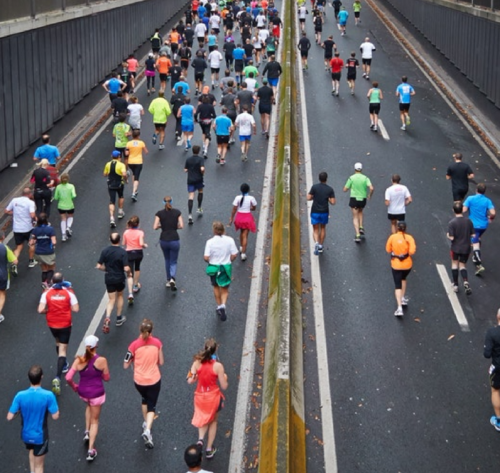 2018 NYC Half Marathon Course