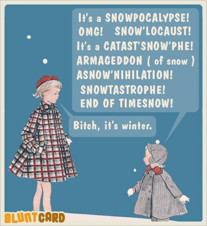 Snowpocalypse Humor