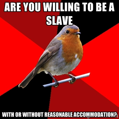 Retail robin slave