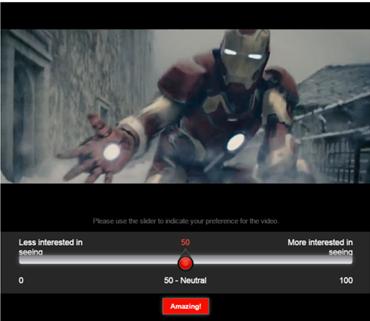 Avengers trailer dial test