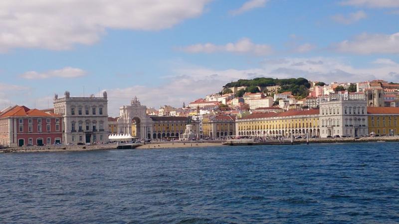 Beautiful Lisbon waterfront