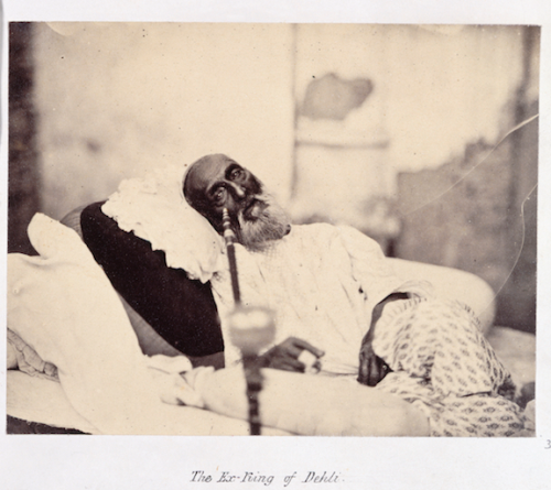 The Ex-King of Delhi [Bahadur Shah II] by Robert Tytler and Charles Shepherd, 1858. BL Photo 797(37)