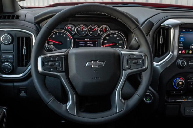 2020 Chevrolet Silverado 1500 Diesel Steering Wheel