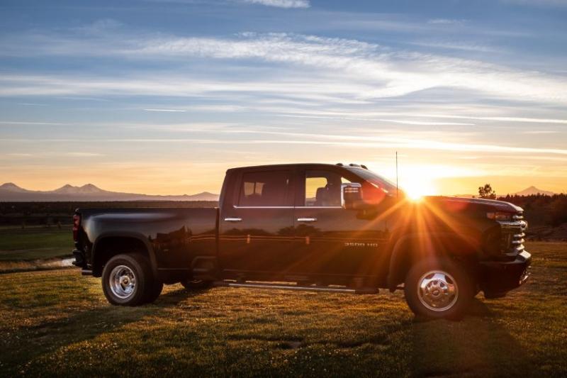 2020 Chevrolet Silverado 3500 Exterior