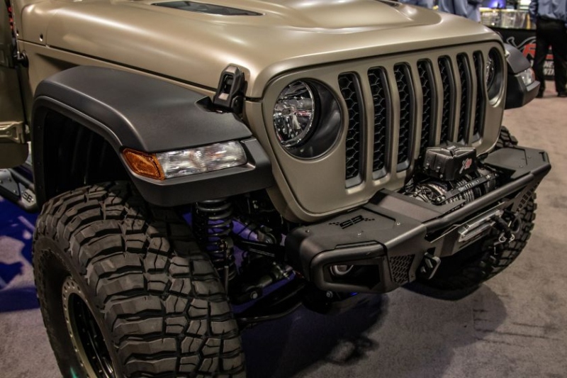 2020 Jeep Gladiator Alpine Equalizer Front Bumper And Grille