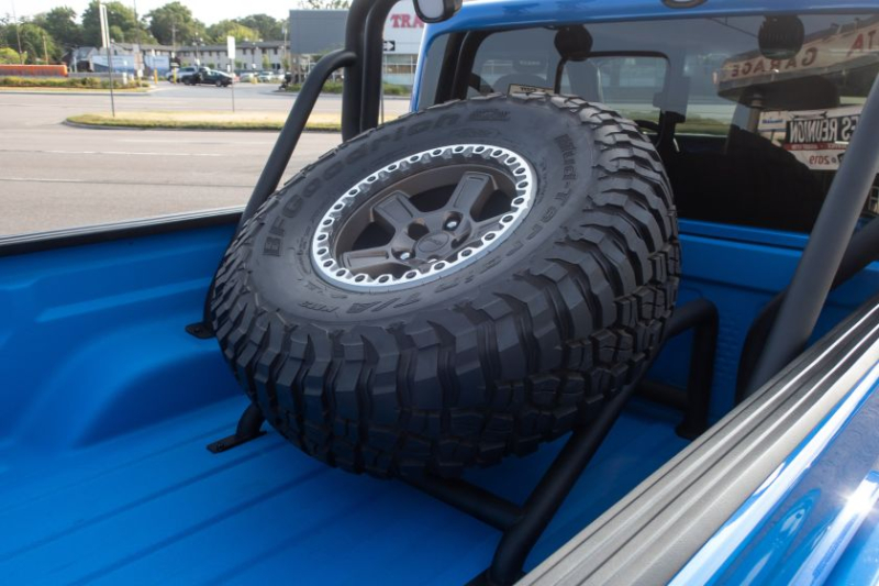 Jeep J6 Concept Bed-Mounted Spare Tire