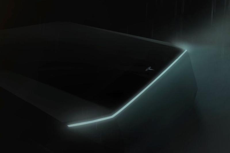 Tesla Pickup Truck Tailgate